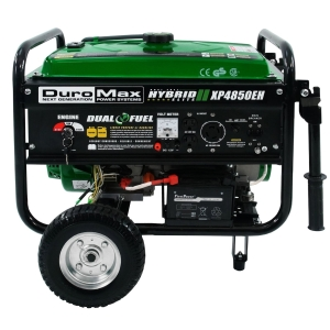 Duromax XP4850EH Dual Fuel Portable Generator