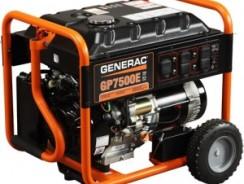 Generac 5943 GP7500E Portable Generator