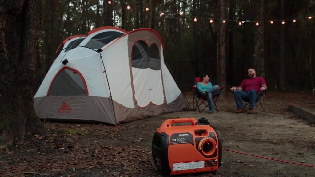 Inverter Generators are Good for Camping