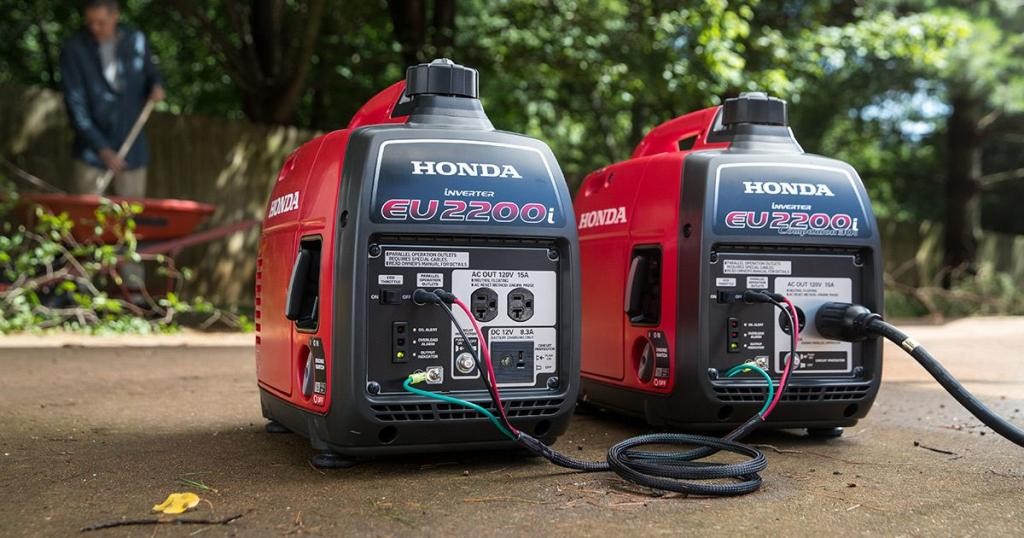 Honda inverters Make Parallel connection possible
