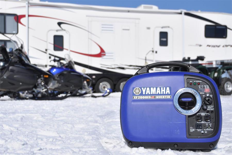 This generator operates very quietly and comes highly recommended for RV owners