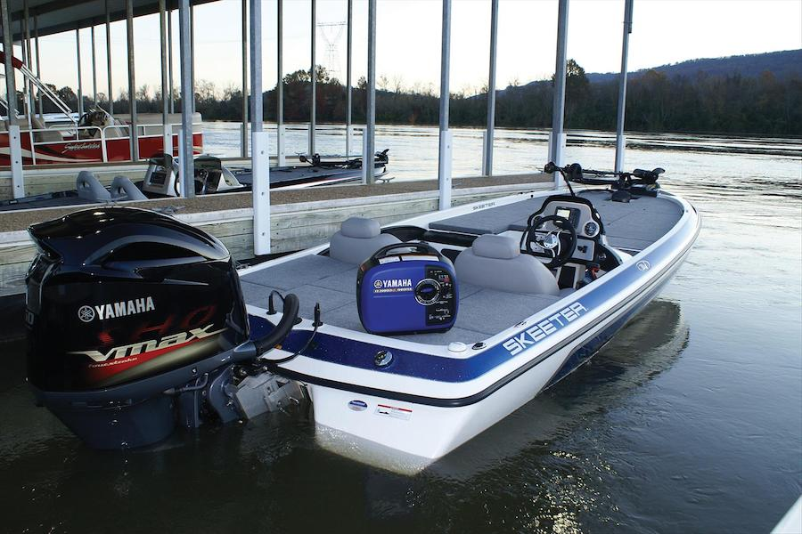 Due to its light weight and high fuel efficiency it is good choice for boats