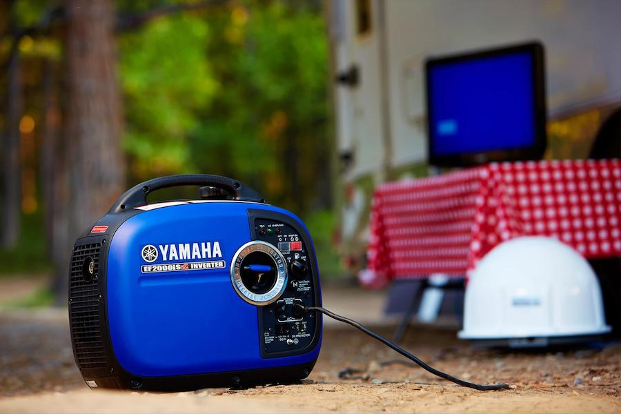 This generator is also good for jobsites or outdoor stalls