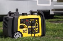 Why are the portable generators usually so loud?